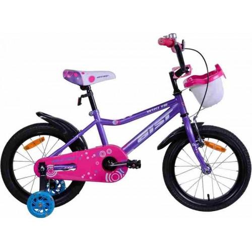 """Велосипед Aist Wiki 16"""" (фиолетовый/розовый, 2019)"""