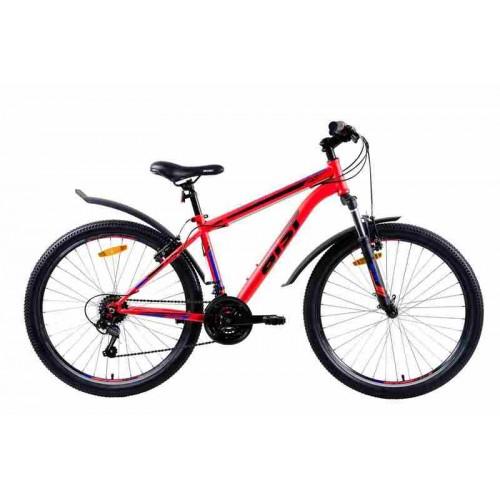 "Велосипед Aist Quest 26"" (красно-синий, 2019)"