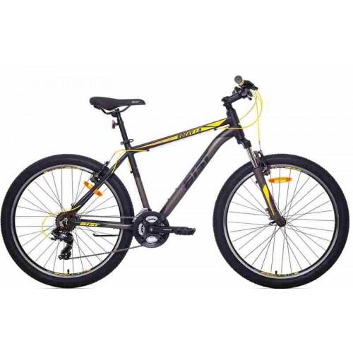 """Велосипед Aist Rocky 1.0 26"""" (черно-желтый, 2019)"""