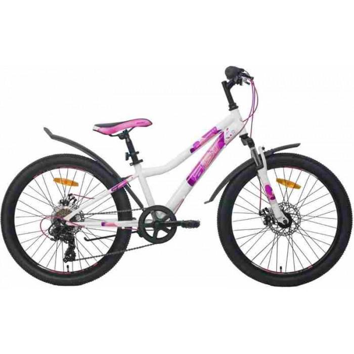 """Велосипед Aist Rosy Junior 1.1 24"""" (белый/розовый, 2020) купить в Минске"""