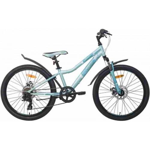 "Велосипед Aist Rosy Junior 1.1 24"" (бирюзовый, 2020)"