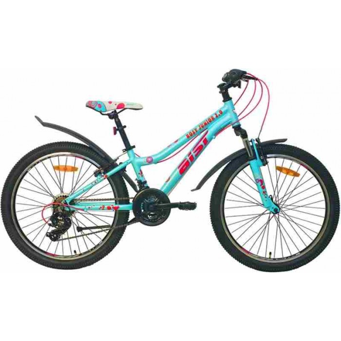 """Велосипед Aist Rosy Junior 2.0 24"""" (голубой, 2020) купить в Минске"""