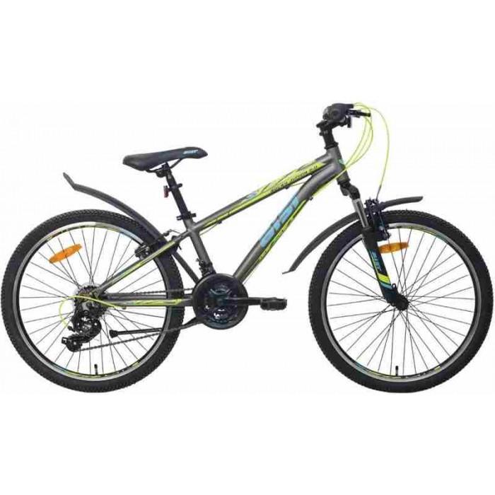 """Велосипед Aist Rocky Junior 2.0 24"""" (серый, 2020) купить в Минске"""
