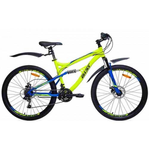 Велосипед Aist Avatar Disc 26 (желтый/синий, 2019)