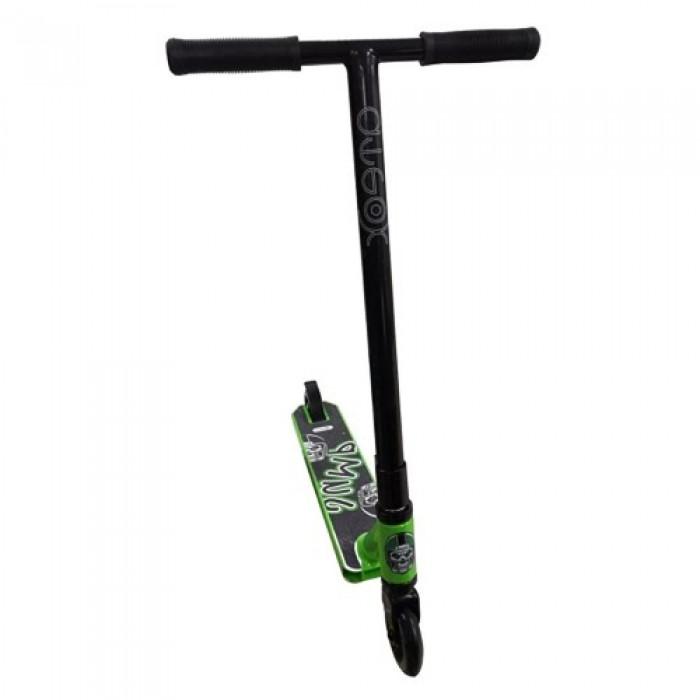 Самокат Ateox Jump Black/Green