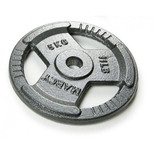 Диск металлический для гантели Atlas Sport HAMMERTONE 5 кг (посад. диаметр 30 мм)