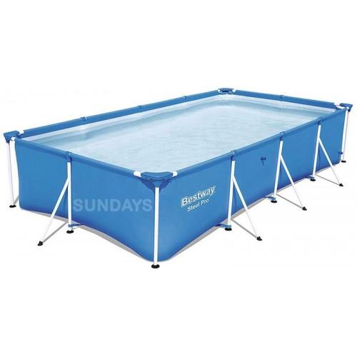 Каркасный бассейн Bestway Steel Pro 56405 13'1 x 6'11 x 32/400x211x81 см