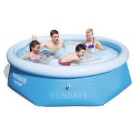 57265 Надувной бассейн Easy Fast Bestway 244x66 (Аналог Intex 28110) купить в Минске