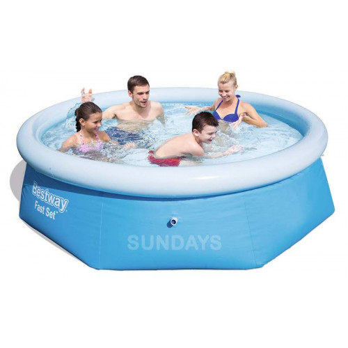 57265 Надувной бассейн Easy Fast Bestway 244x66 (Аналог Intex 28110)
