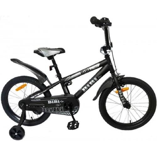 """Детский велосипед BiBi Go 20"""" (черный, 2020)"""