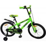 """Детский велосипед BiBi Go 20"""" (зеленый, 2020)"""