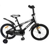 """Детский велосипед BiBi Go 18"""" (черный, 2020)"""