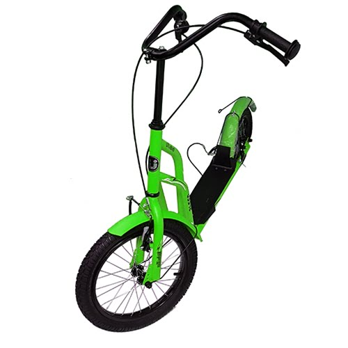 Самокат Bibitu Speed SKL-016-AWS-GN green
