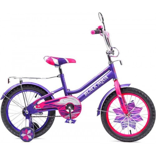 """Велосипед Black Aqua Lady 16"""" (фиолетовый/розовый, 2018)"""