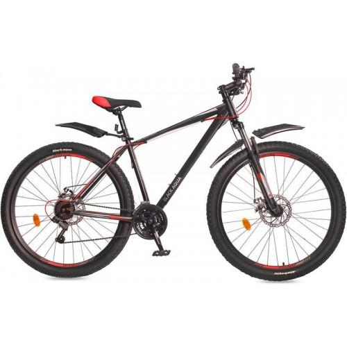 """Велосипед Black Aqua Cross 1981 D+ 29"""" (черный/красный, 2018)"""