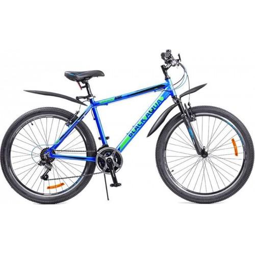"""Велосипед Black Aqua Cross 2651 V 26"""" (синий/зеленый, 2018)"""