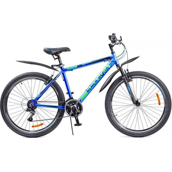 """Велосипед Black Aqua Cross 2651 V 26"""" (синий/зеленый, 2018) купить в Минске"""