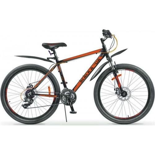 """Велосипед Black Aqua Cross 2683 D 26"""" (черный/оранжевый, 2018)"""