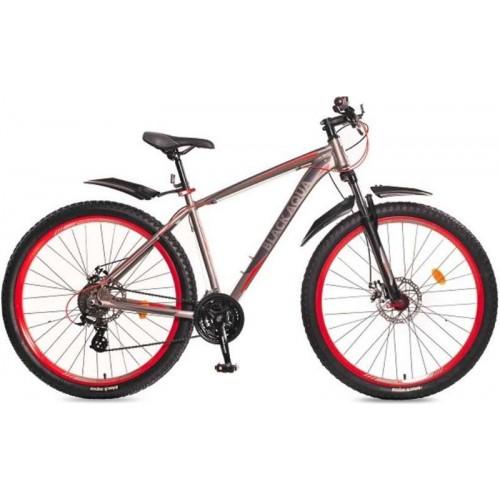 """Велосипед Black Aqua Cross 2991 D+ 29"""" (серый/красный, 2018)"""