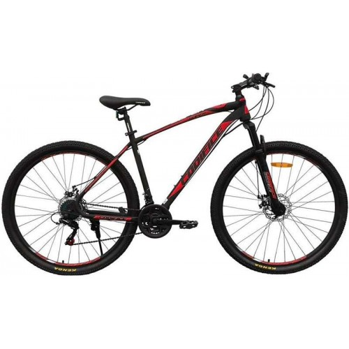 """Велосипед Codifice Super D 26"""" (черный/красный, 2020)"""