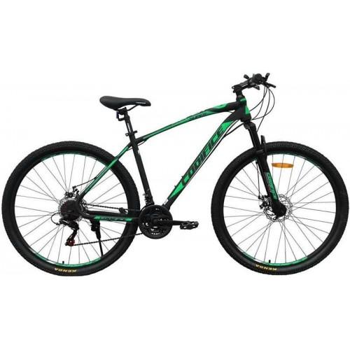 """Велосипед Codifice Super D 26"""" (черный/зеленый, 2020)"""