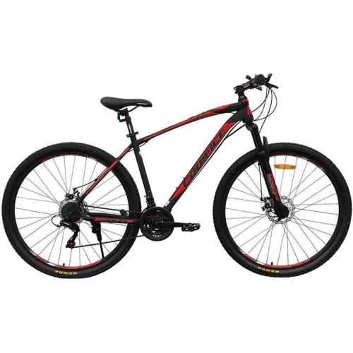 """Велосипед Codifice Super D 27.5"""" (черный/красный, 2020)"""