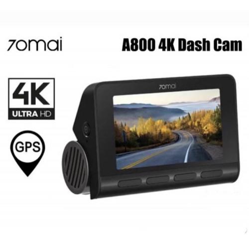 Автомобильный видеорегистратор Xiaomi 70mai Dash Cam A800 4k