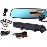 Видеорегистратор-зеркало Eplutus D02 с камерой заднего вида