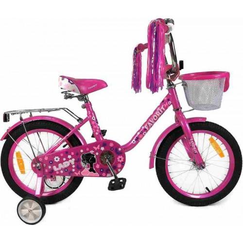 """Велосипед Favorit Lady 18"""" (розовый, 2019)"""