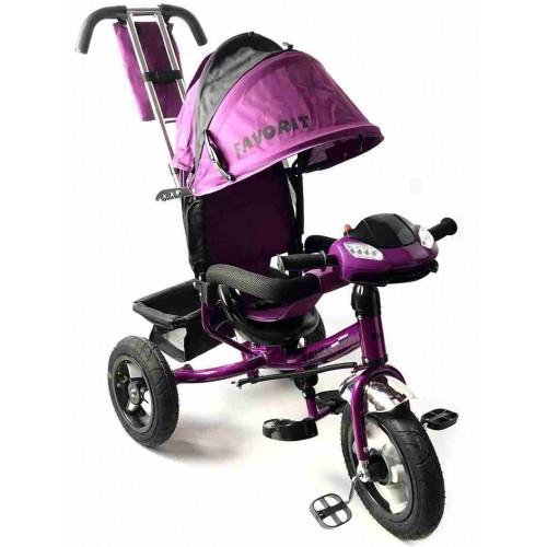 Велосипед Favorit Trike Rally FTR-1210V (фиолетовый)