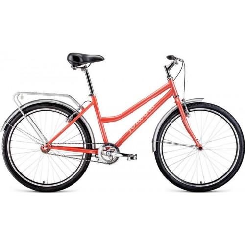 """Велосипед Forward Barcelona 1.0 26"""" (коралловый, 2020)"""
