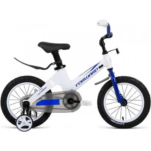 "Велосипед Forward Cosmo 14"" (белый/синий, 2020)"