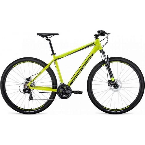 "Велосипед Forward Apache 3.0 Disc 29"" (желтый, 2020)"