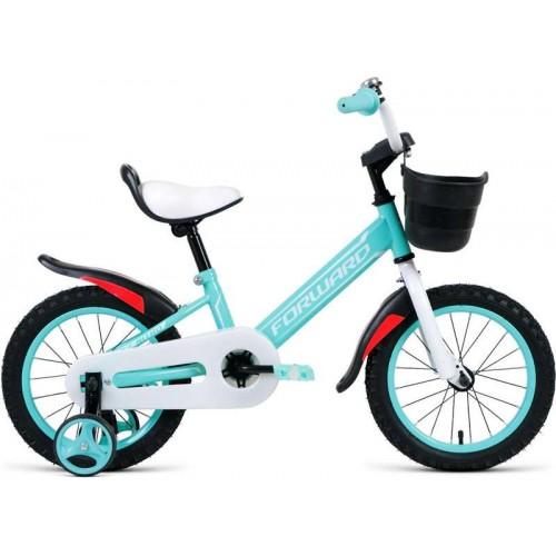 """Велосипед Forward Barrio 14"""" (мятный, 2020)"""