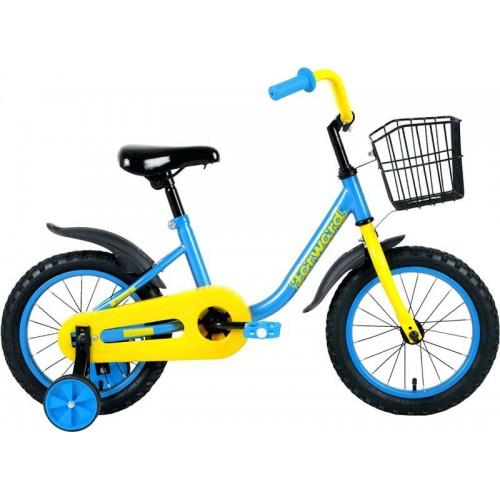 "Велосипед Forward Barrio 14"" (голубой, 2020)"