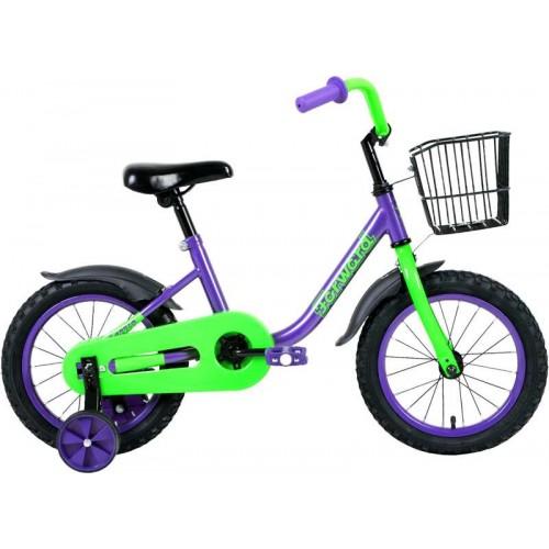 """Велосипед Forward Barrio 14"""" (фиолетовый, 2020)"""