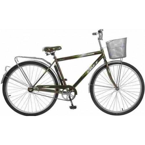 """Велосипед Foxx Fusion 28"""" (коричневый, 2019)"""