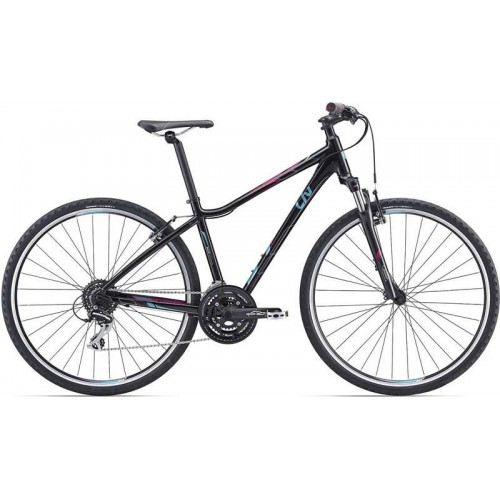 """Велосипед Giant Rove 3 DD 28"""" (черный, 2019)"""