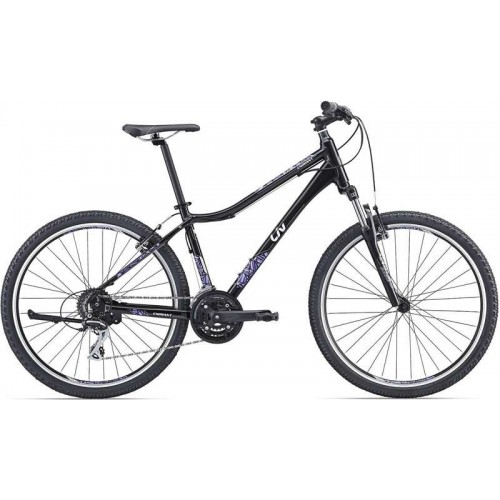 """Велосипед Giant Enchant 1 26"""" (черный/фиолетовый, 2019)"""