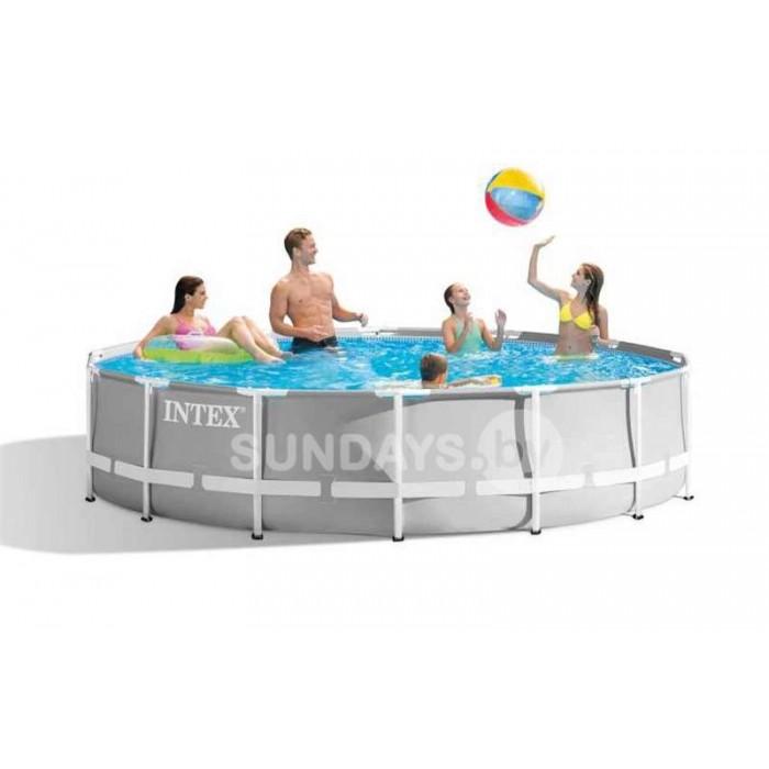 26700 Каркасный бассейн Intex PRISM FRAME 305x76см купить в Минске