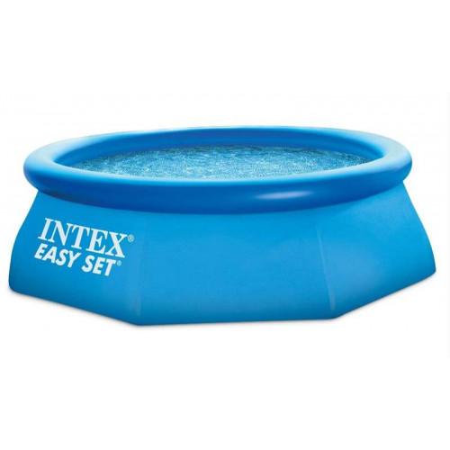 28112 Надувной бассейн Intex EASY SET 244x76 см + фильтр-насос 1250 л.ч