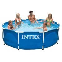 28200 Каркасный бассейн Intex METAL FRAME 305х76см купить в Минске