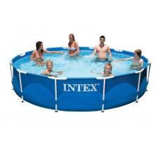 28210 Каркасный бассейн Intex METAL FRAME 366х76 см