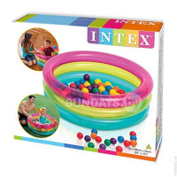 48674 Надувной бассейн Intex 3-RING 86х25см купить в Минске