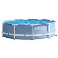 Каркасный бассейн Intex Prism Frame 26728NP 457х84см + фильтр-насос, лестница, тент, подстилка купить в Минске