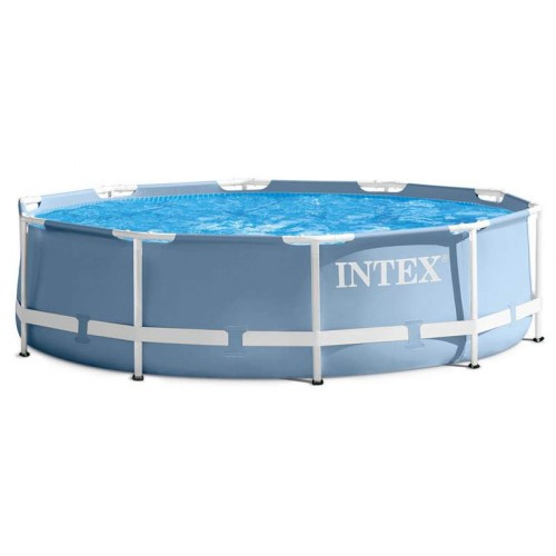 Каркасный бассейн Intex Prism Frame 26752NP 549х122см + фил.-насос 5678л\ч, лестница, тент, подстилка