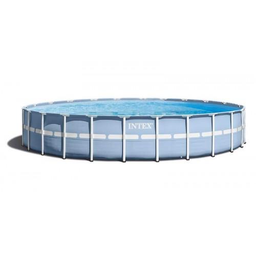 Каркасный бассейн Intex Prism Frame 28736 457x122 см+ фильтр-насос, лестница, тент, подстилка