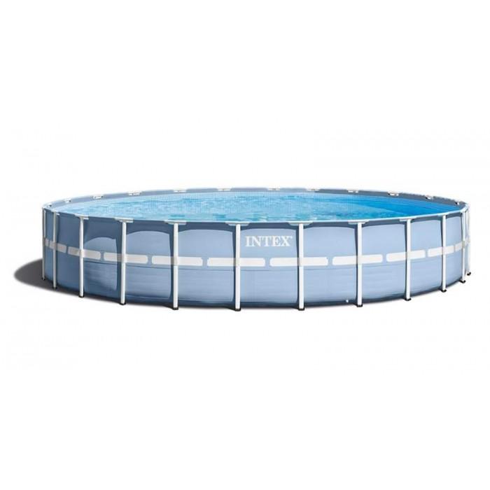 Каркасный бассейн Intex Prism Frame 28752 549x122 см + фильтр-насос, лестница, тент, подстилка купить в Минске