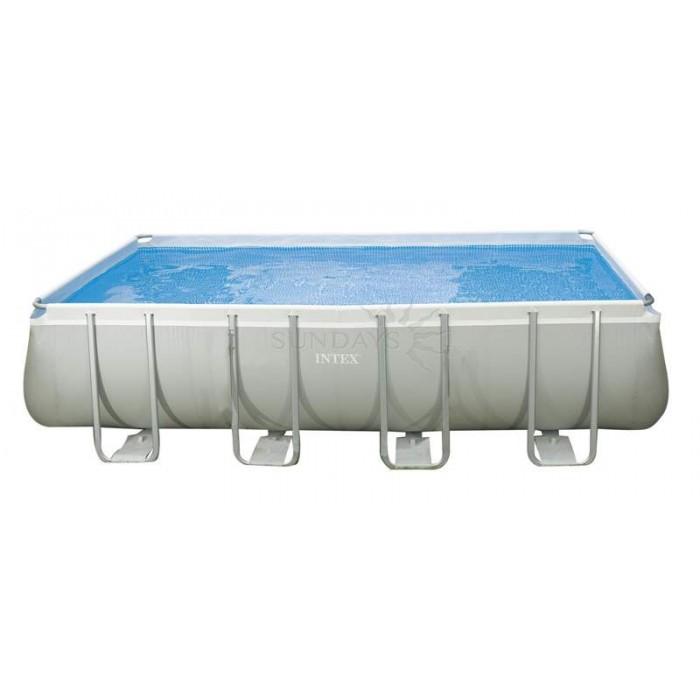 Каркасный бассейн Intex Ultra Frame 26352 549х274х132см + песочный фильтр-насос, лестница, тент, подстилка купить в Минске