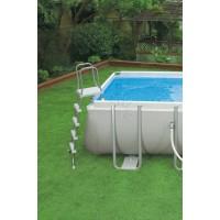 Каркасный бассейн Intex Ultra Frame 26362 732х366х132см + песочный фильтр-насос, лестница, тент, подстилка купить в Минске